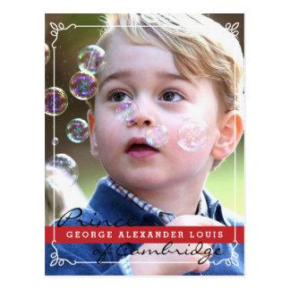 Cartão Postal Príncipe George de Cambridge