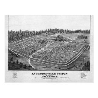 Cartão Postal Prisão de Andersonville por John L resgate