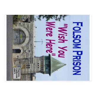 """Cartão Postal Prisão de Folsom: """"Desejo você estava aqui"""" #2"""
