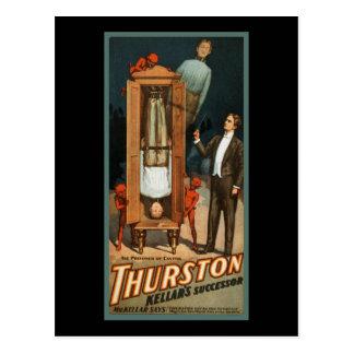Cartão Postal Prisioneiro de Thurston do cantão