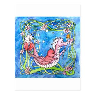 Cartão Postal Procura do dragão do mar