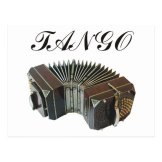 Cartão Postal Produtos & design do tango! Música de Argentina!