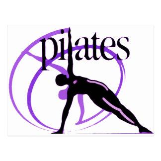 Cartão Postal Produtos do método de Pilates!