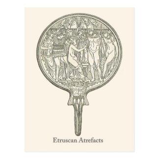Cartão Postal Produtos manufacturados 4 de Etruscan