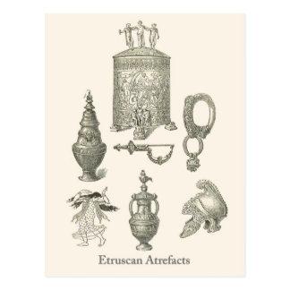 Cartão Postal Produtos manufacturados 6 de Etruscan