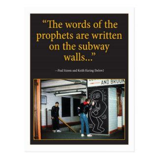 Cartão Postal Profetas