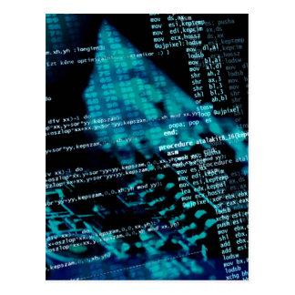 Cartão Postal Programação informática