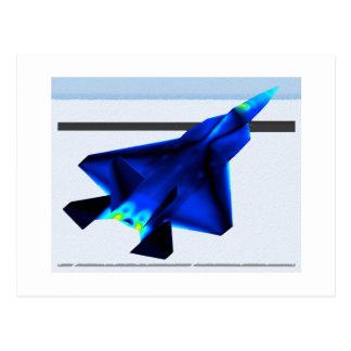 Cartão Postal Projeto térmico dos aviões