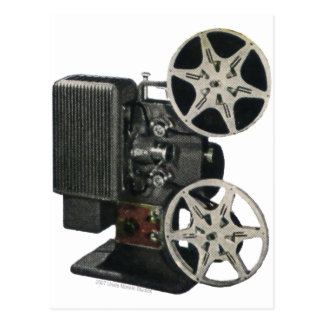 Cartão Postal Projetor de filme 1947