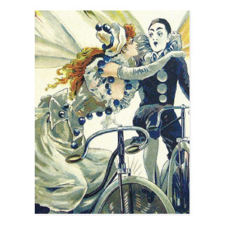 Cartão Postal Propaganda da bicicleta do vintage - ciclismo