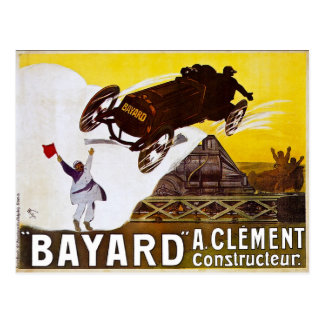 Cartão Postal Propaganda do vintage de Clément-Bayard