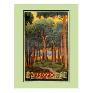 Cartão Postal Propaganda italiana do viagem de Viareggio do