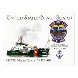 Cartão Postal Proposta litoral da bóia de USCGC Henry Blake