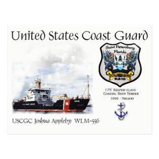 Cartão Postal Proposta litoral da bóia de USCGC Joshua Appleby