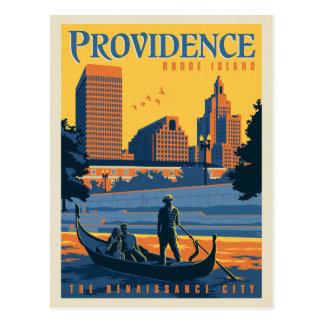 Cartão Postal Providência, Rhode - ilha   a cidade do