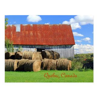 Cartão Postal Província pitoresca de Quebeque, Canadá
