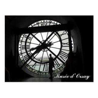 Cartão Postal Pulso de disparo d'Orsay de Musée (texto)
