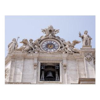 Cartão Postal Pulso de disparo e Bell, Cidade do Vaticano, Roma,