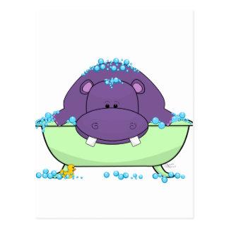 Cartão Postal Purple_Hippo_Bath.png