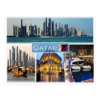 Cartão Postal QA Qatar -