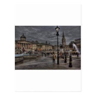 Cartão Postal Quadrado de Trafalgar