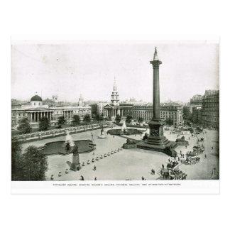 Cartão Postal Quadrado de Trafalgar 1900