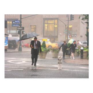 Cartão Postal Quadrado do arauto, New York 2005