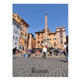 Cartão Postal Quadrado em Roma, Italia