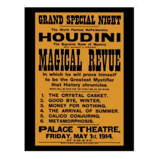 Cartão Postal Quadro de avisos 1914 amarelo restaurado de Harry