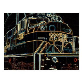 Cartão Postal Qualidade 1976 - 1999 de Conrail, SD-80MAC #4118