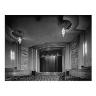 Cartão Postal Quarta avenida. Teatro do art deco, Anchorage, AK