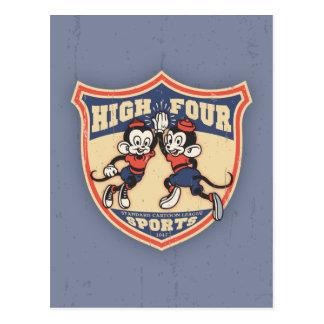 Cartão Postal Quatro esportes altos