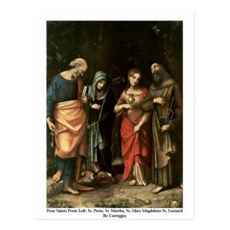 Cartão Postal Quatro santos