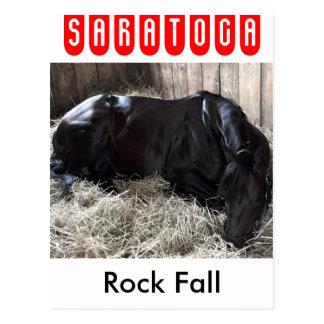 Cartão Postal Queda da rocha por Speightstown - Renda