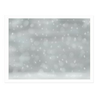 Cartão Postal Queda de neve