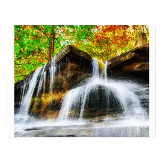 Cartão Postal Quedas da cascata