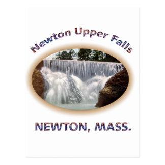 Cartão Postal Quedas da parte superior de Newton
