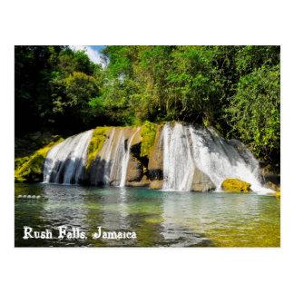 Cartão Postal Quedas da precipitação, Jamaica