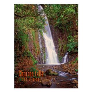 Cartão Postal Quedas de Chorros, Costa Rica