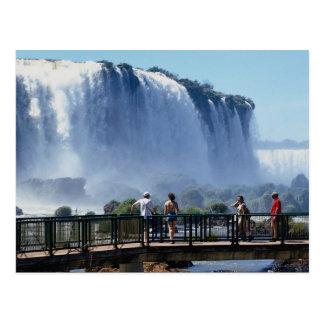 Cartão Postal Quedas de Iguacu, Brasil