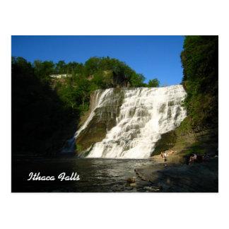 Cartão Postal Quedas de Ithaca