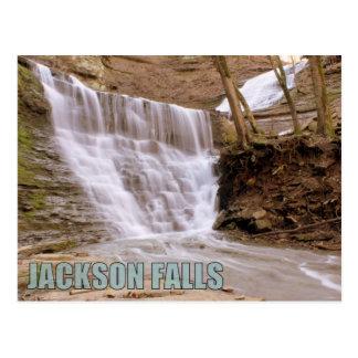 Cartão Postal Quedas de Jackson, Parkway do traço de Natchez,