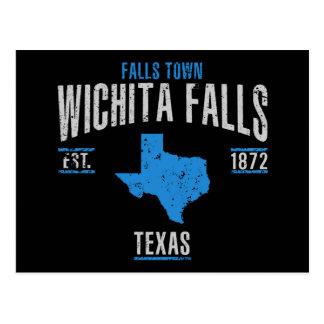 Cartão Postal Quedas de Wichita