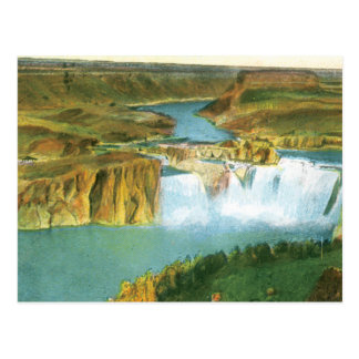 Cartão Postal Quedas do Shoshone