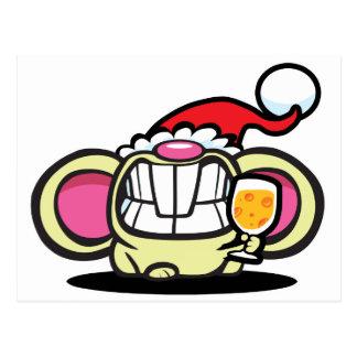 Cartão Postal QUEIJO do Natal!