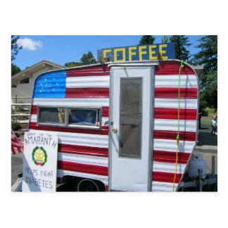Cartão Postal Queira o café?