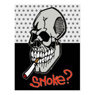 Cartão Postal Queira um fumo