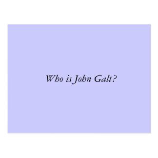 Cartão Postal Quem é John Galt?