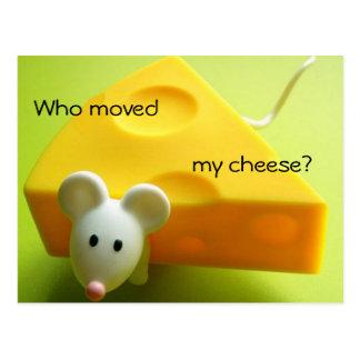 Cartão Postal Quem moveu meu queijo?