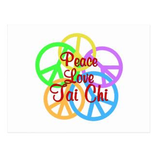 Cartão Postal Qui do amor TAI da paz